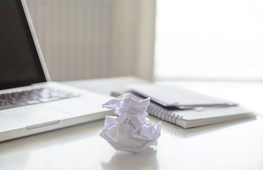 ¿Te entra pánico escénico cuando te enfrentas a un papel en blanco? Vas a ver como no es para tanto